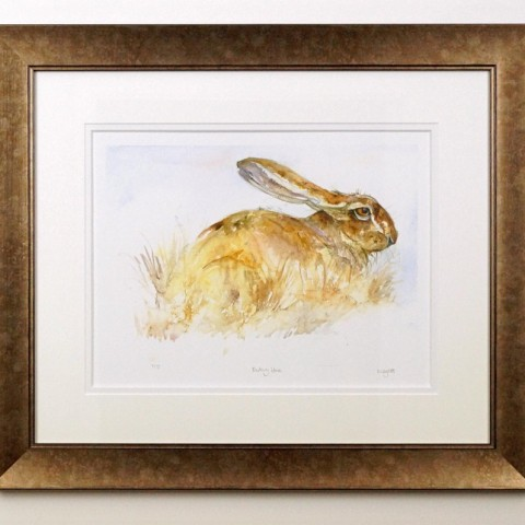 Resting Hare by Kate Wyatt