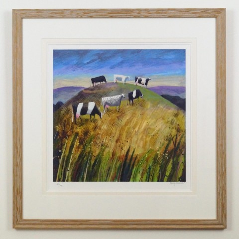 Hill Cows by Mary Sumner